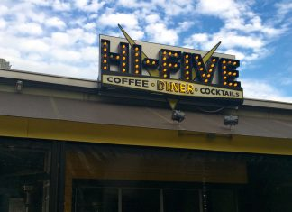 Hi-Five diner closing