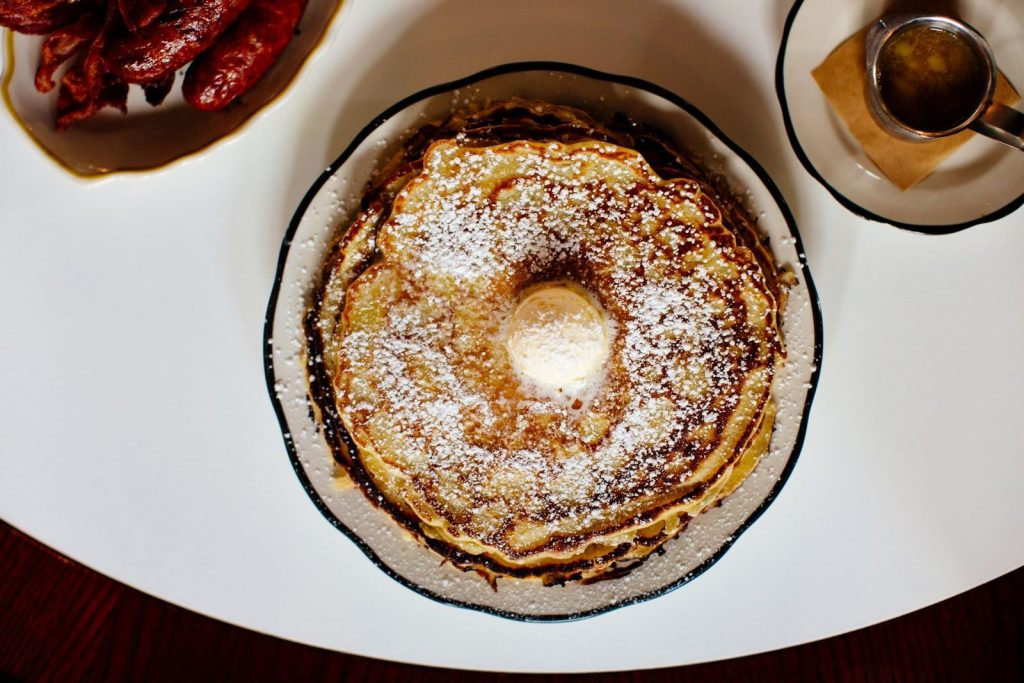 The pancakes at Superica.