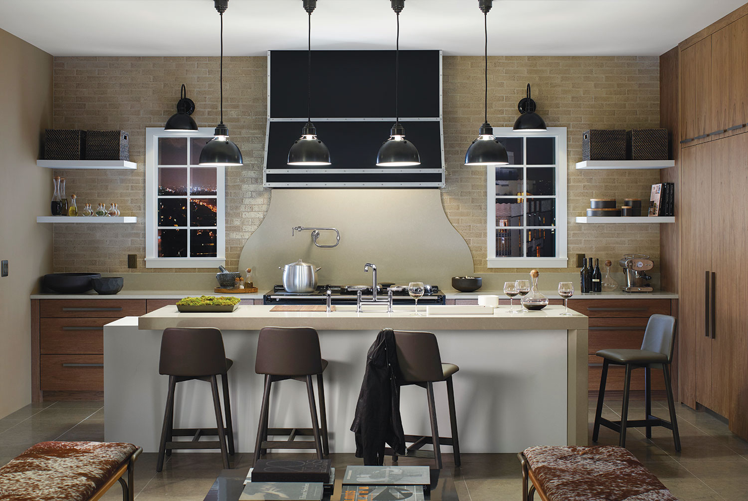 kitchen design for cooks. Concept kitchen by Mark Williams for Silestone  Benjamin Moore and Kohler How male cooks are influencing the way today s kitchens
