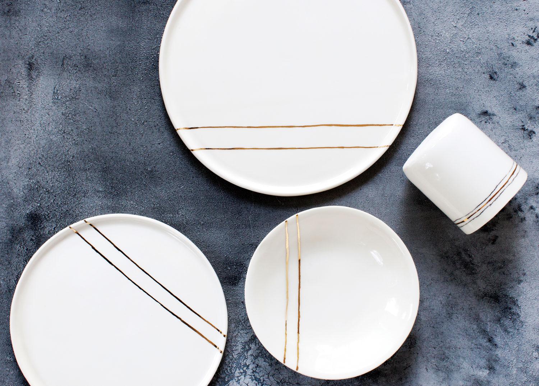 Honeycomb Studio plates
