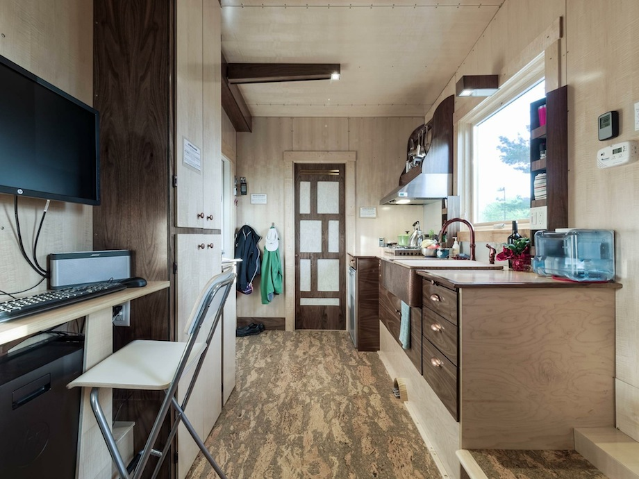 when people first walk into grace tiny house she asks them to take a deep breath what do they smell nothing