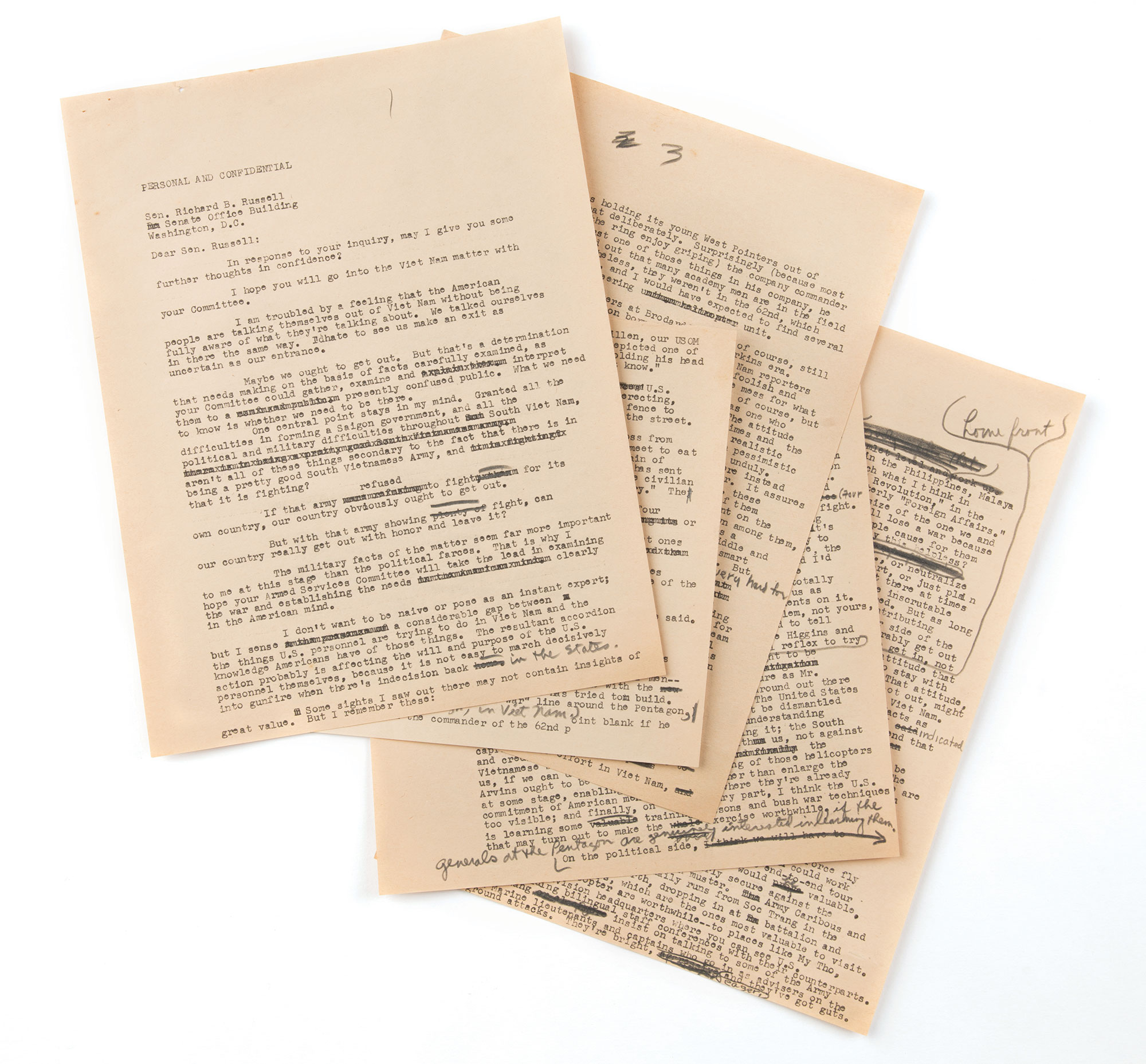 Gene Patterson\'s papers reveal the stories behind events that ...
