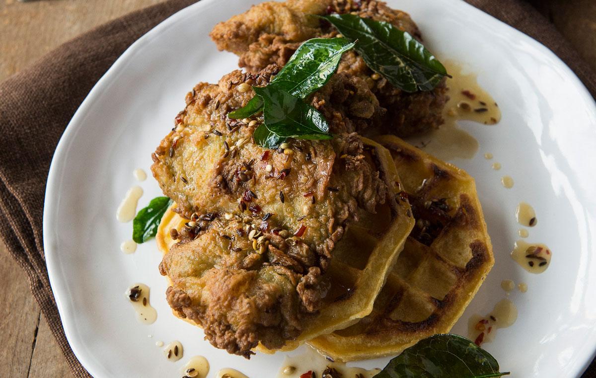 Kerala-style fried chicken
