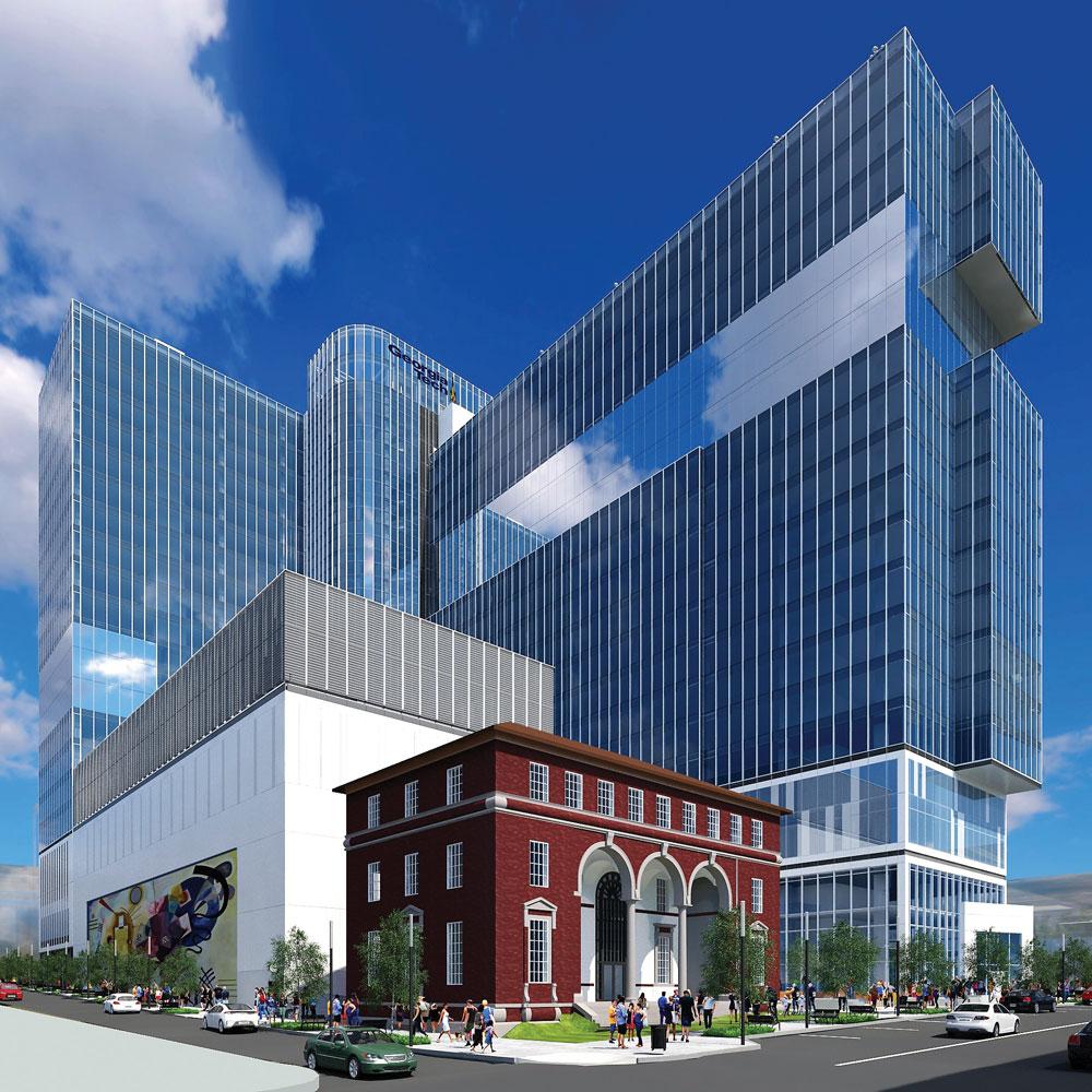 Technology Hub Coda Will Fill A City Block In Midtown