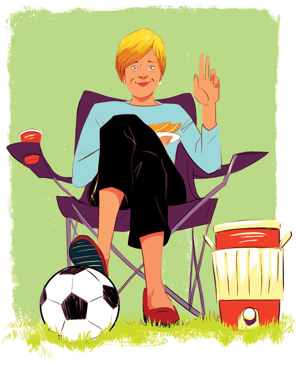 Soccer mom lament
