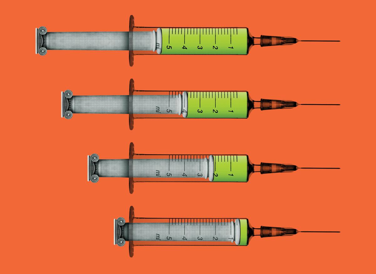 Capital punishment syringes