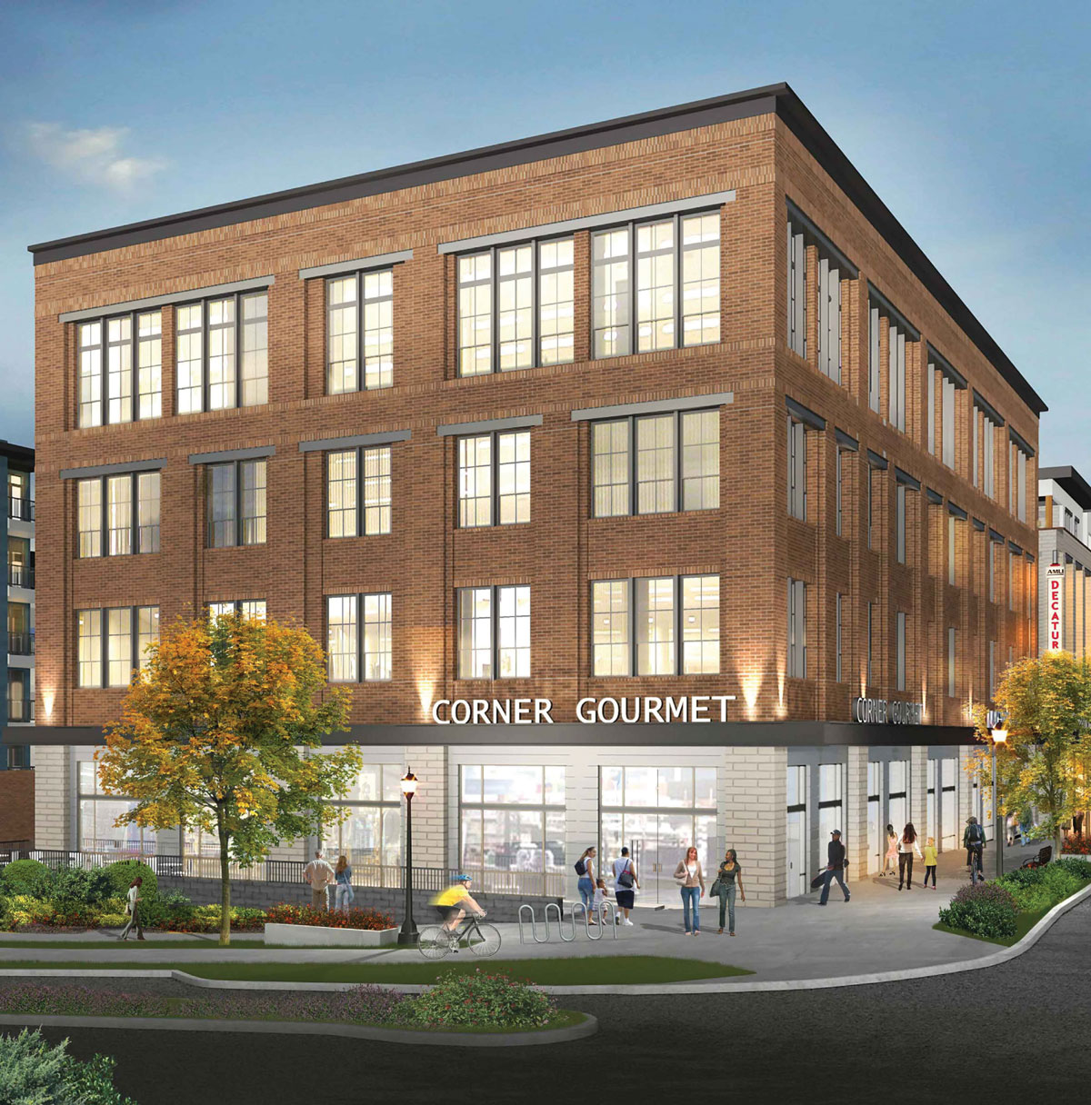 Apartments In Downtown: A New Development Will Boast Downtown Decatur's First New