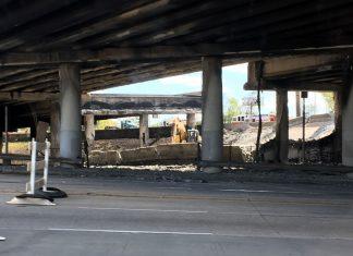 Atlanta I-85 collapse