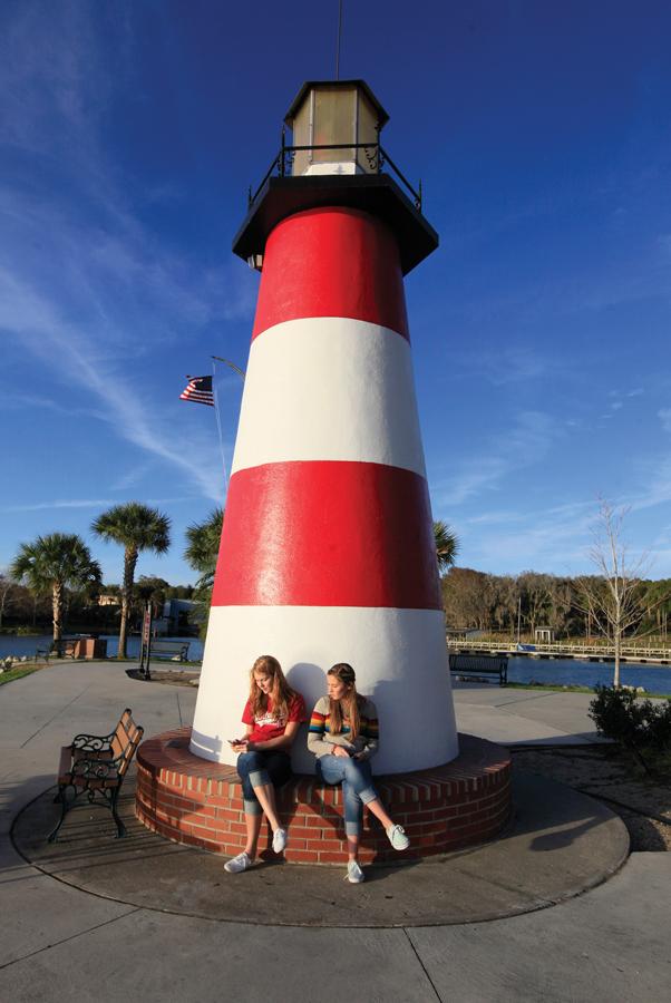 Enjoy lake life in the quaint town of Mount Dora, Florida