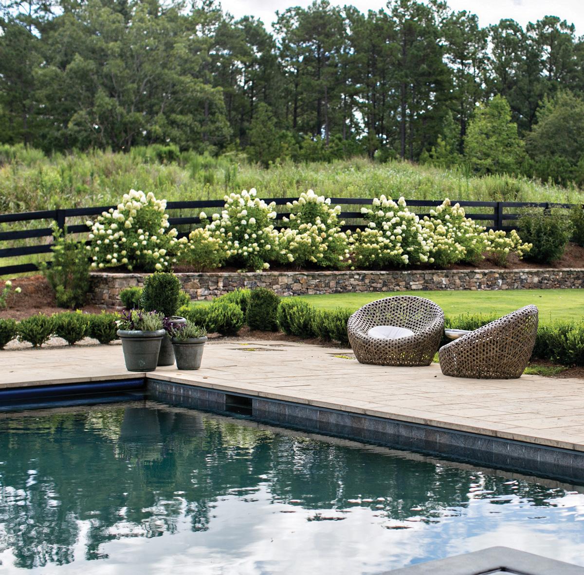 Serenbe Home pool