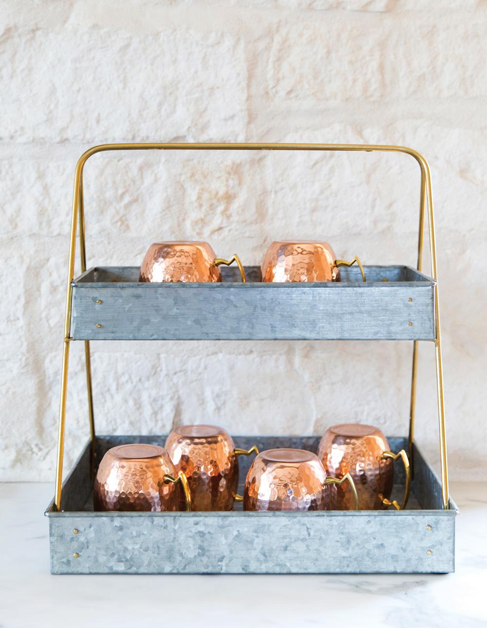 Serenbe Home copper mugs