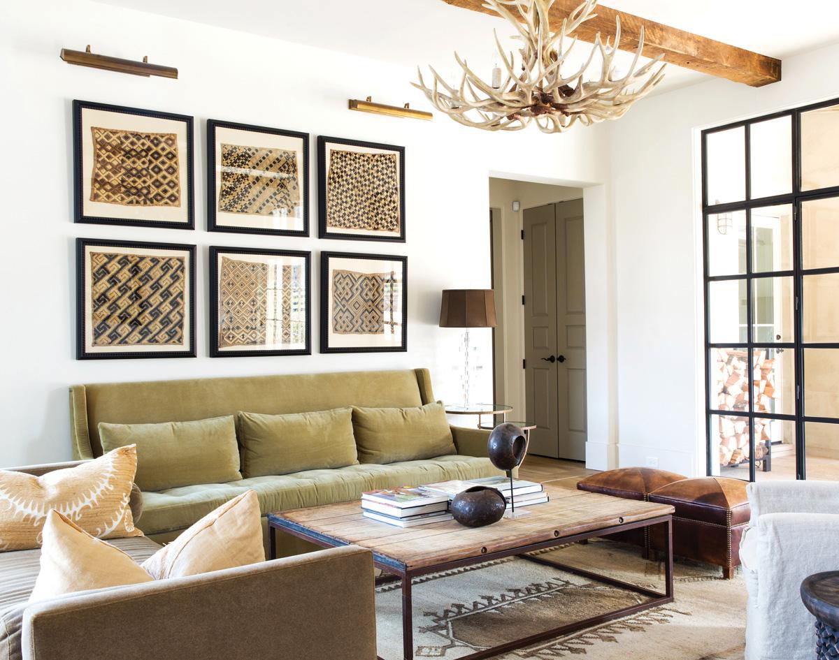 Serenbe Home sitting room