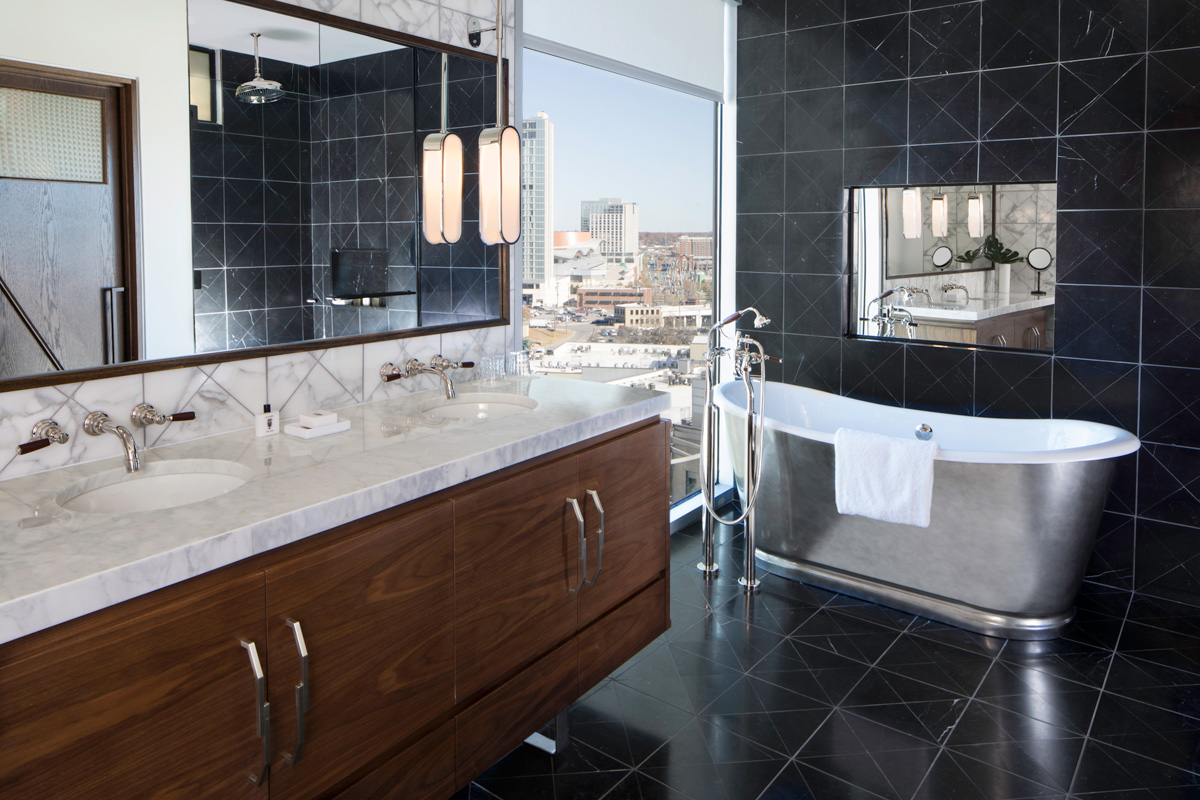 Bathroom Fixtures Nashville the south's coolest new hotels: the thompson nashville - atlanta