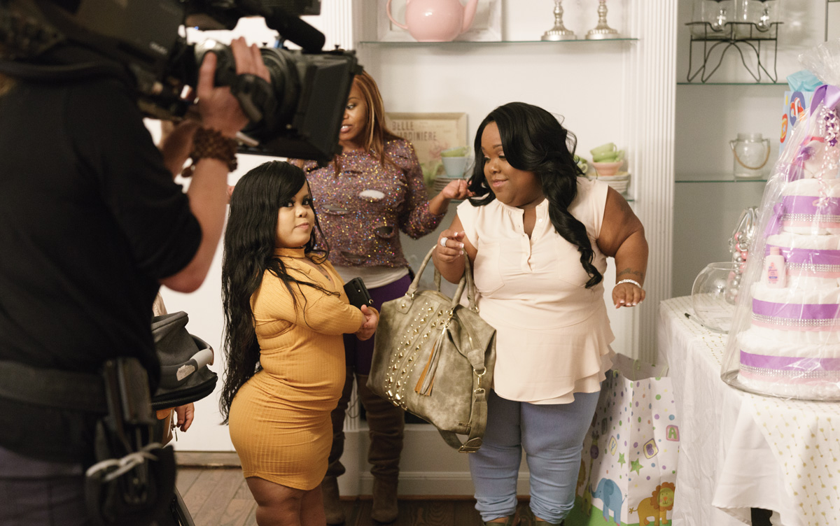 On Screen Little Women Atlanta Is All Drama All The Time