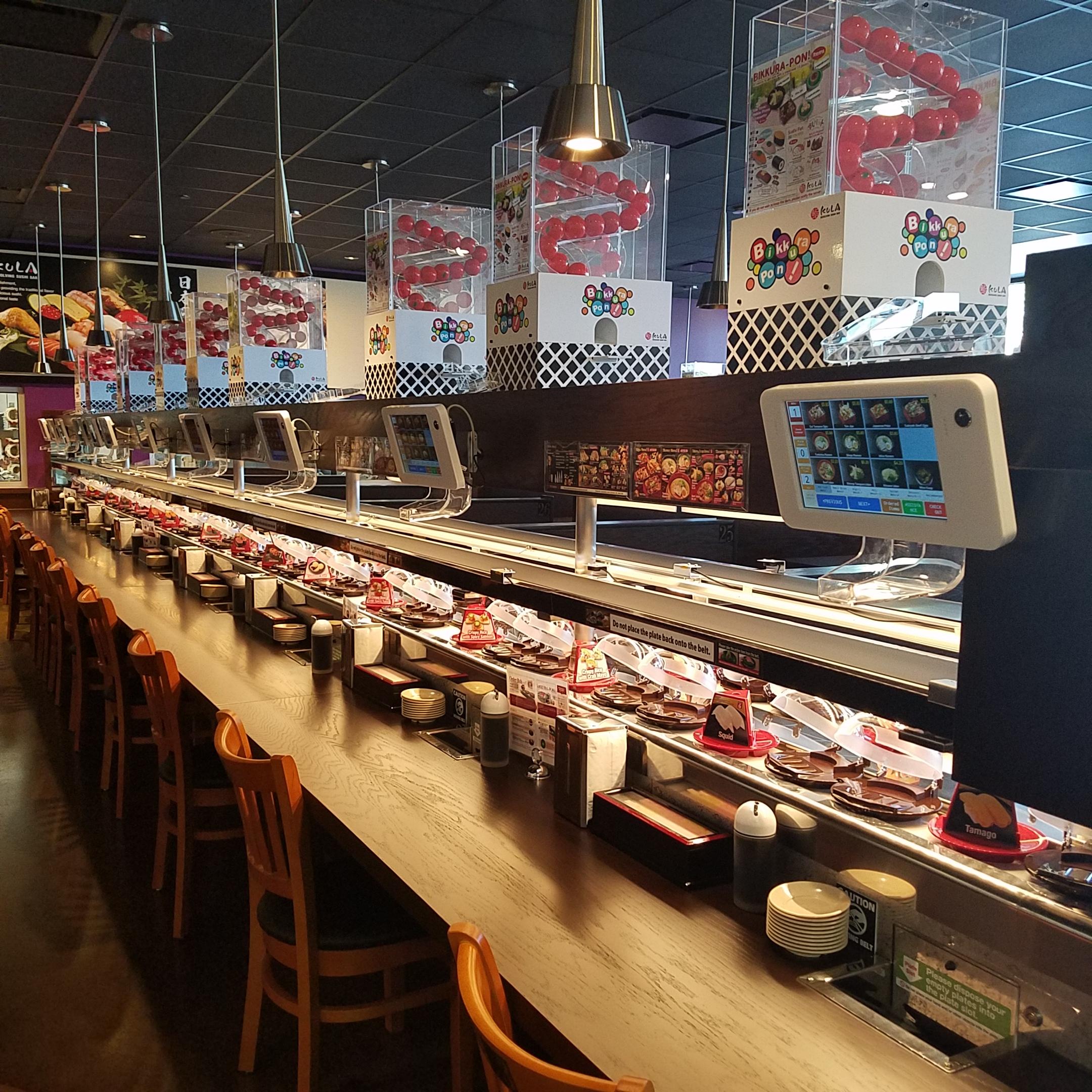 Sushi Fresh Rotating Bar Japanese Restaurant Menu
