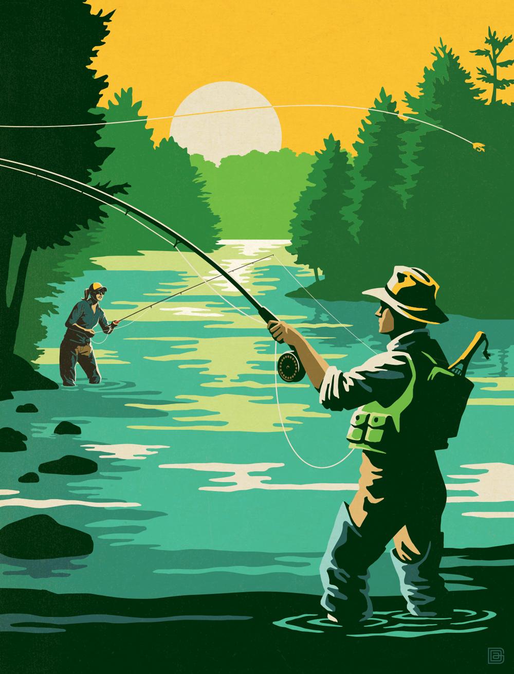 Chattahoochee fishing