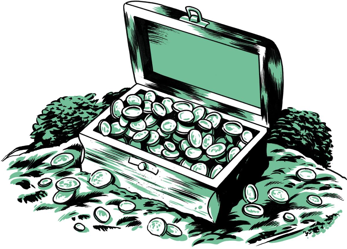 Chattahoochee Buried Treasure