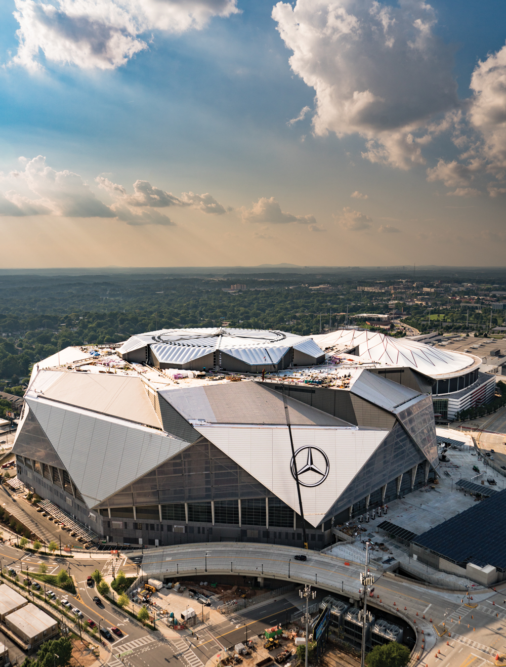 American Cathedral The Story Behind Mercedes Benz Stadium