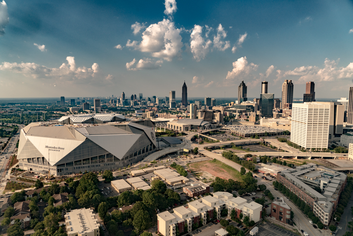 American cathedral the story behind mercedes benz stadium for Mercedes benz stadium atlanta