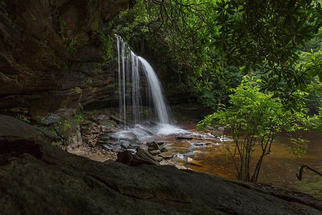 Panthertown Valley Waterfall