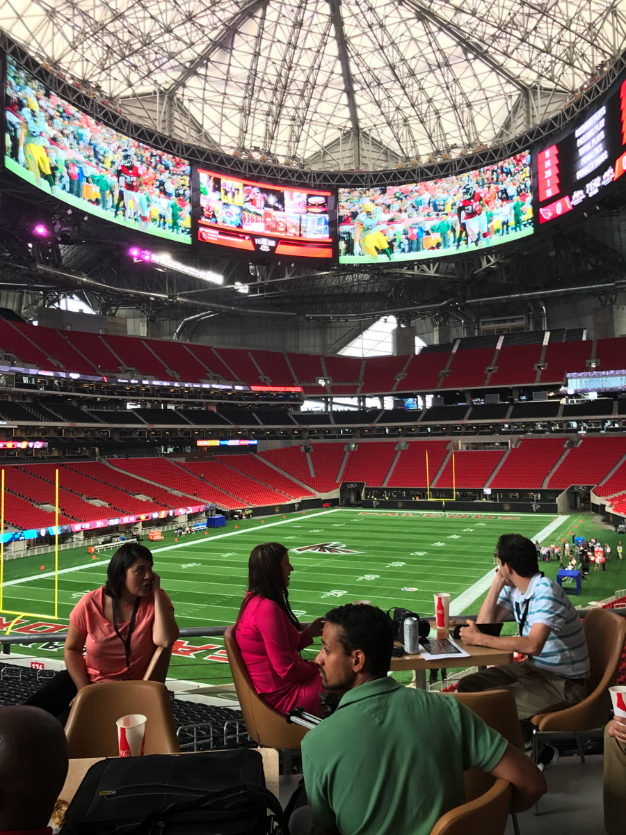 Days Away From Opening Here 39 S What Mercedes Benz Stadium