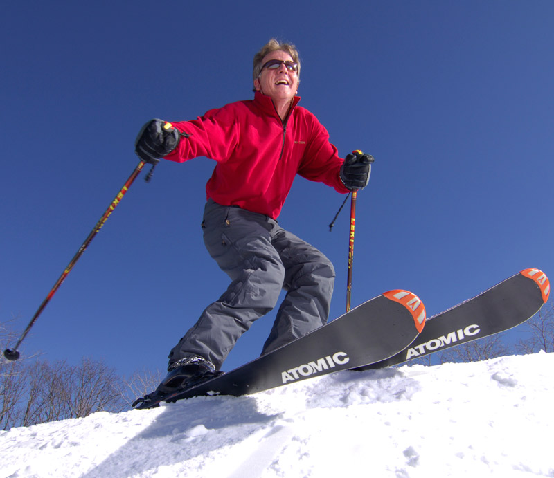 Jim Cottrell, ski instructor and owner of the French-Swiss Ski College in Blowing Rock