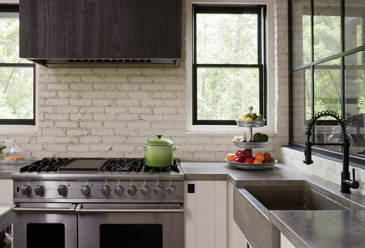 Get the look modern farmhouse kitchen atlanta magazine - Images of farmhouse kitchens ...