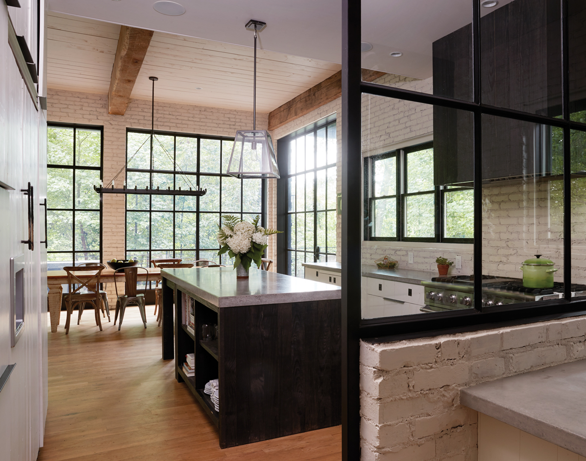 amusing black farmhouse kitchen | Get the look: Modern farmhouse kitchen - Atlanta Magazine