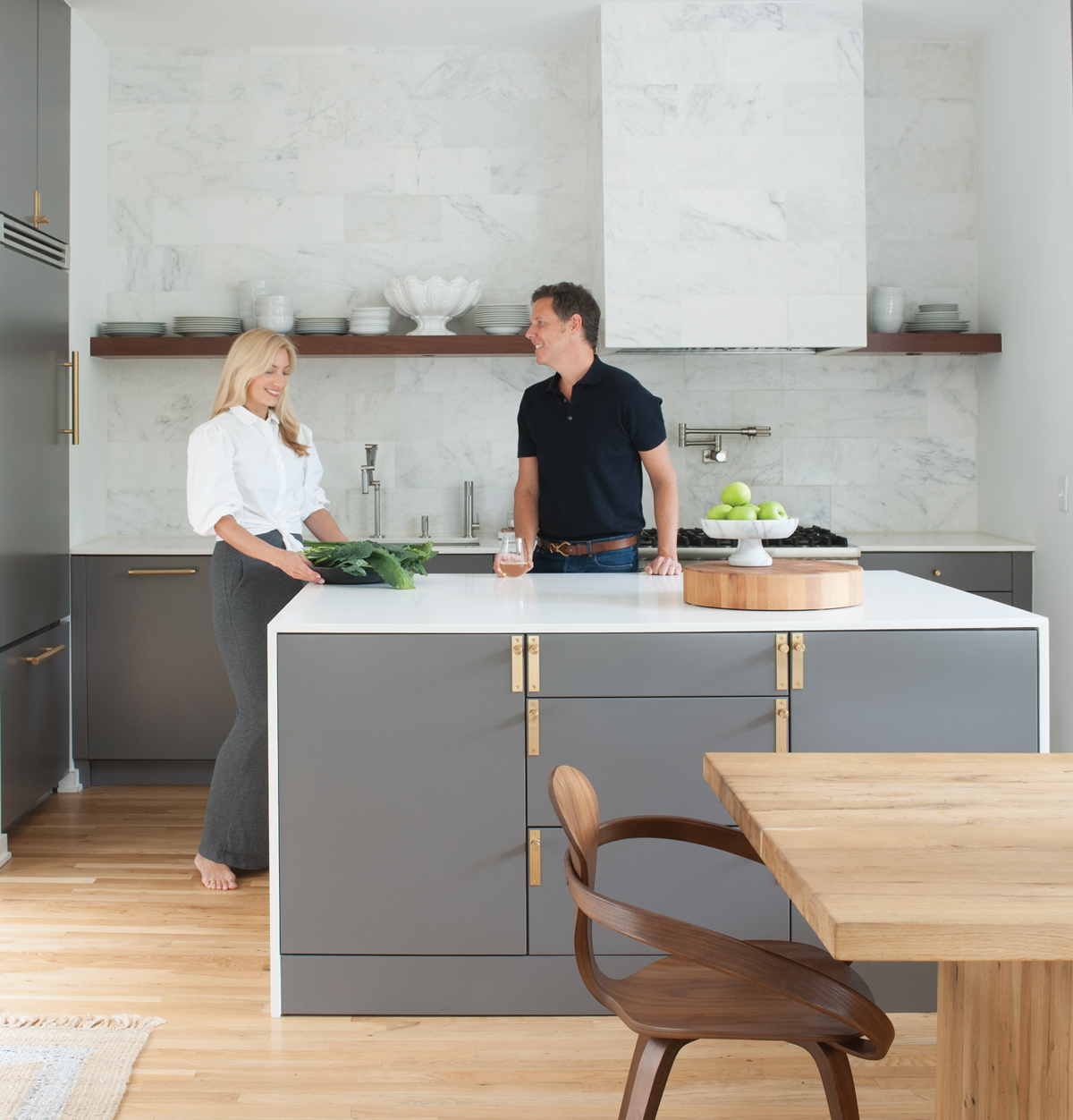 How design couple Mister + Mrs. Sharp transformed their stylish ...