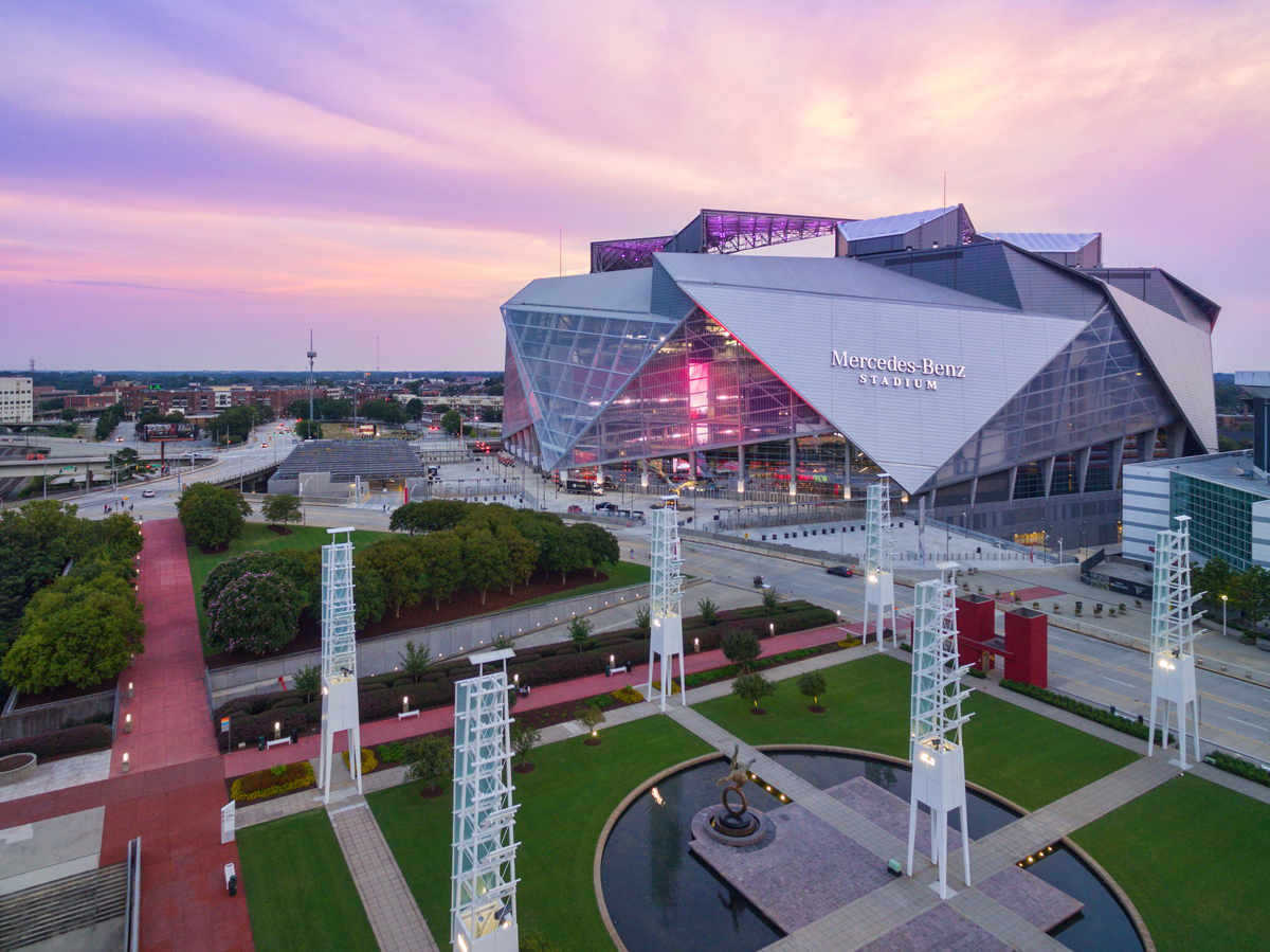 50 best things to do in Atlanta: Mercedes-Benz Stadium