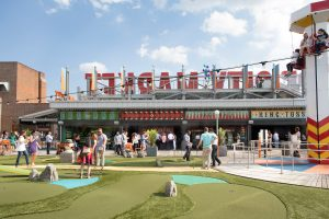 Carnival Inspired Amusement Park On Ponce City Market S
