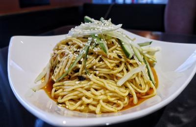 Sichuan noodles at Yummy Spicy
