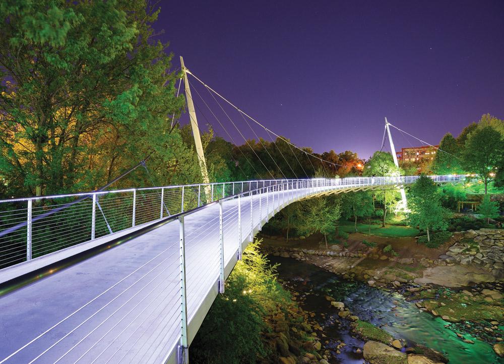 Liberty Bridge, Greenville, South Carolina