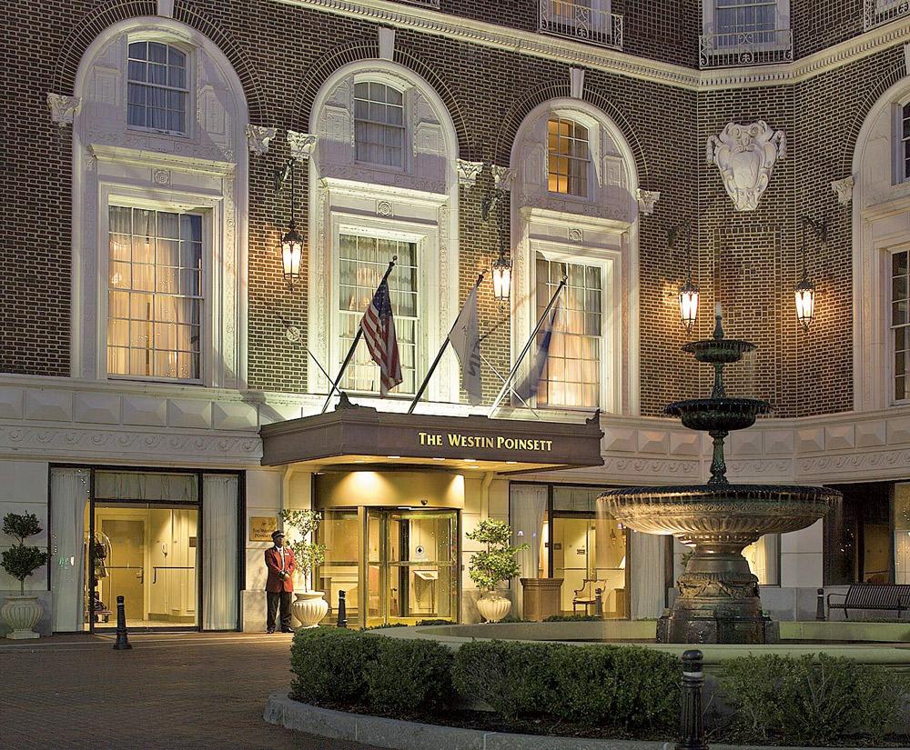 Westin Poinsett Hotel, Greenville, South Carolina