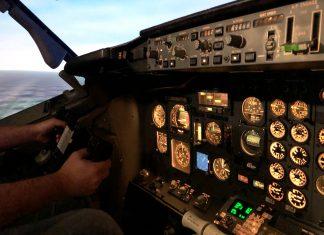 Delta Flight Museum 737 Flight Simulator