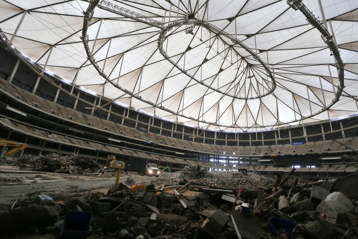 Georgia Stadium Demolition >> 11 things to know about the Georgia Dome implosion - Atlanta Magazine