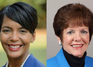 Atlanta election Keisha Lance Bottoms Mary Norwood