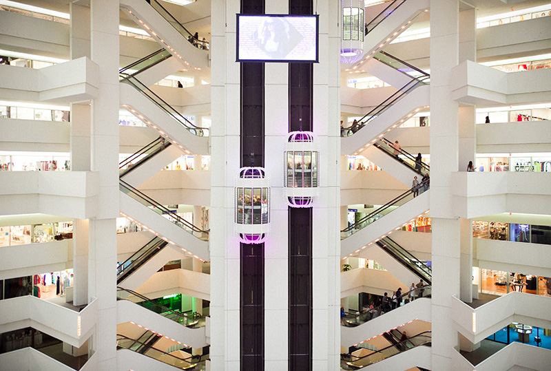 Building 3 atrium