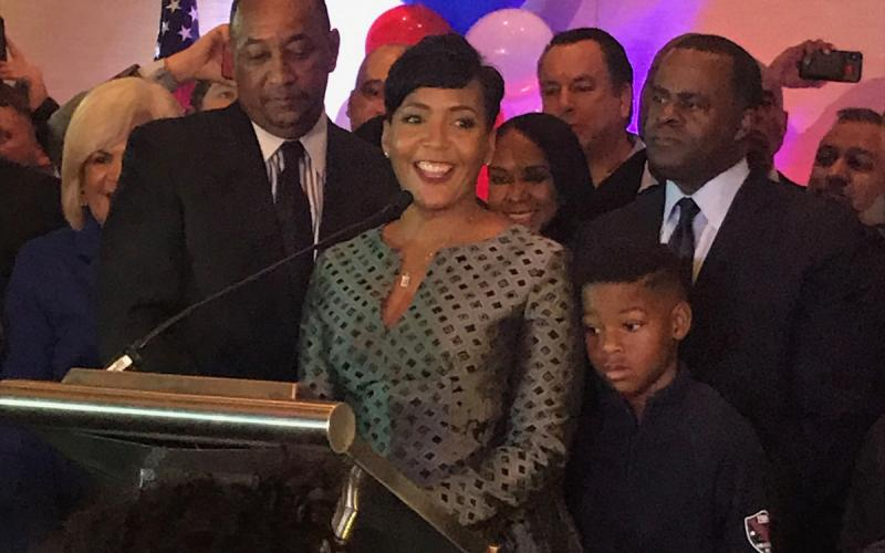 Keisha Lance Bottoms >> Even With A Recount Atlanta S Next Mayor Is Almost Certainly
