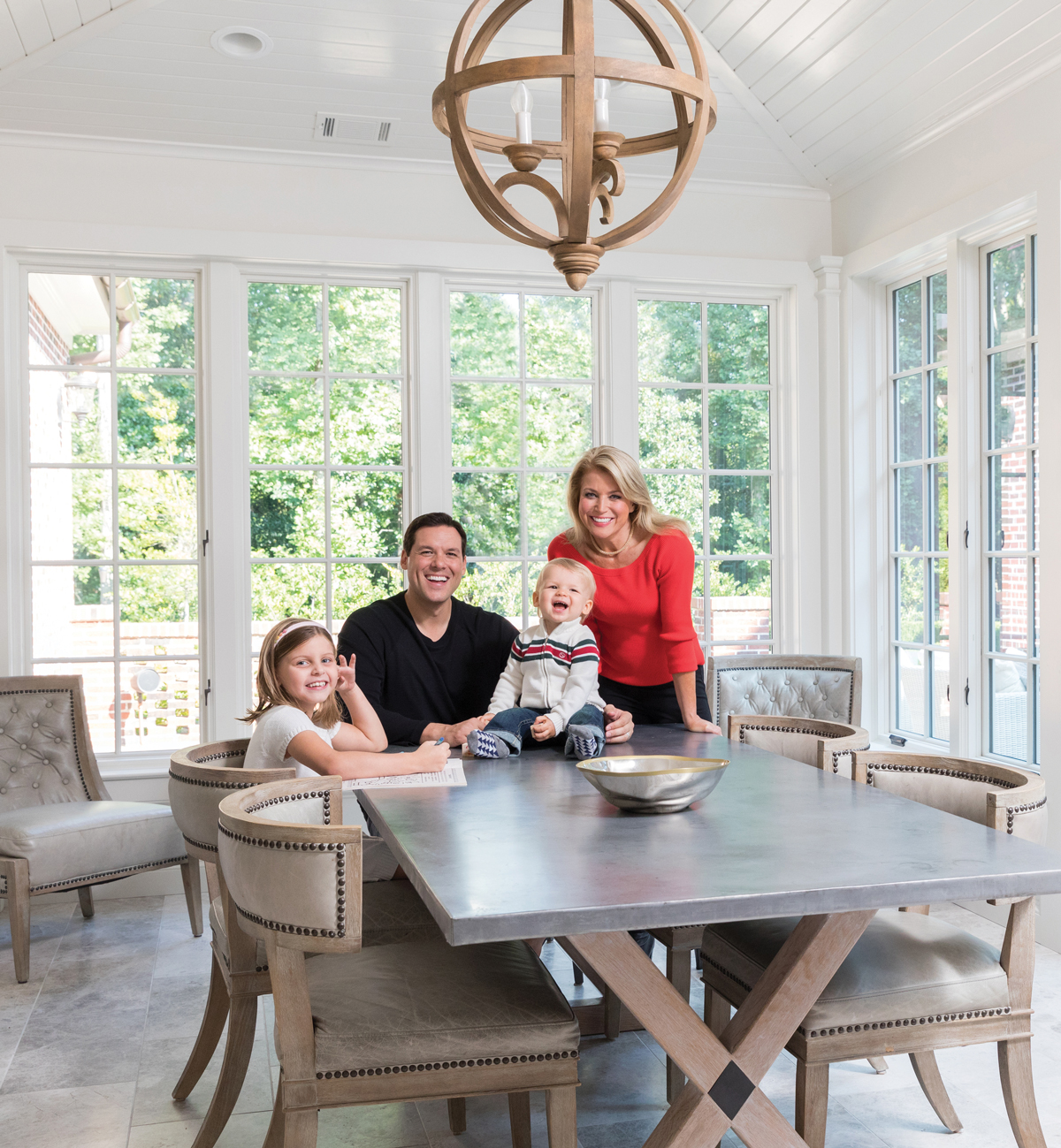 Elegant And Family Friendly Atlanta Home: This Buckhead Church Building Was Converted Into A Bright