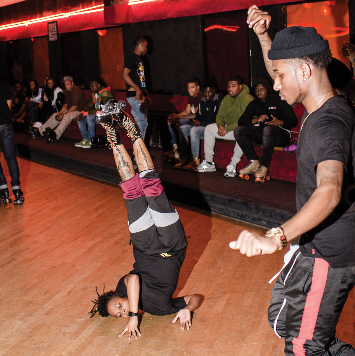 Roller Skate Sneakers >> Sunday Night Skate: Clubs don't have anything on Cascade's ...