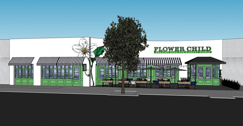 Fox restaurant concepts flower child to open in shops around lenox a rendering of flower child buckhead mightylinksfo