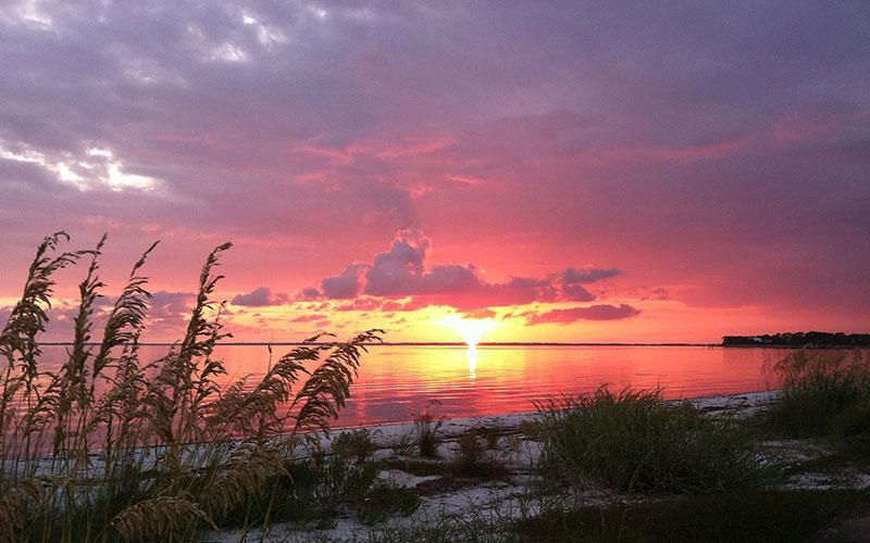Gulf County sunset