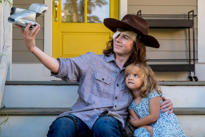 The Walking Dead 809 Carl Judith