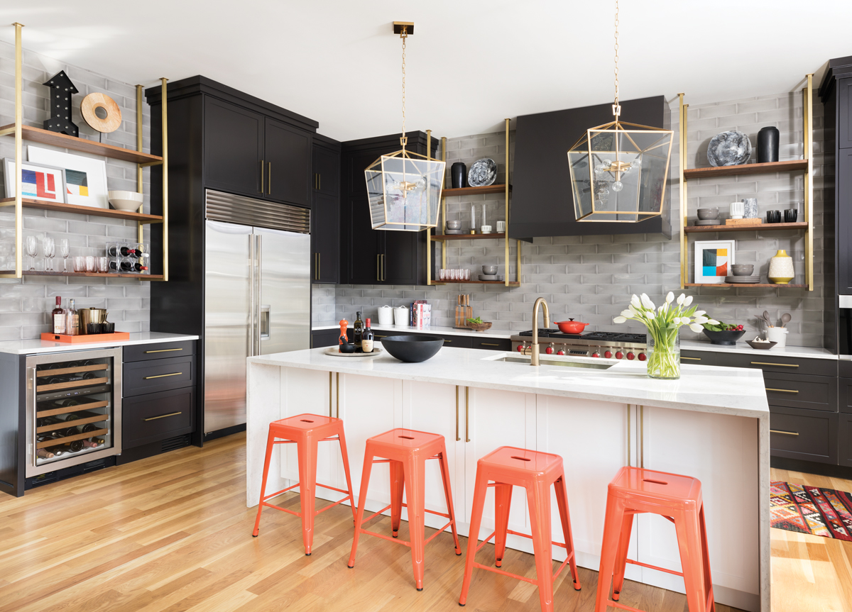 This hip Reynoldstown kitchen has a mix of splurges and savings ...