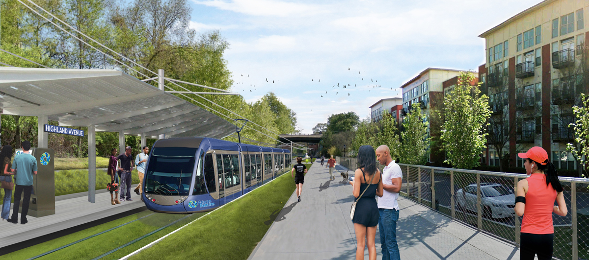 Atlanta BeltLine Transit