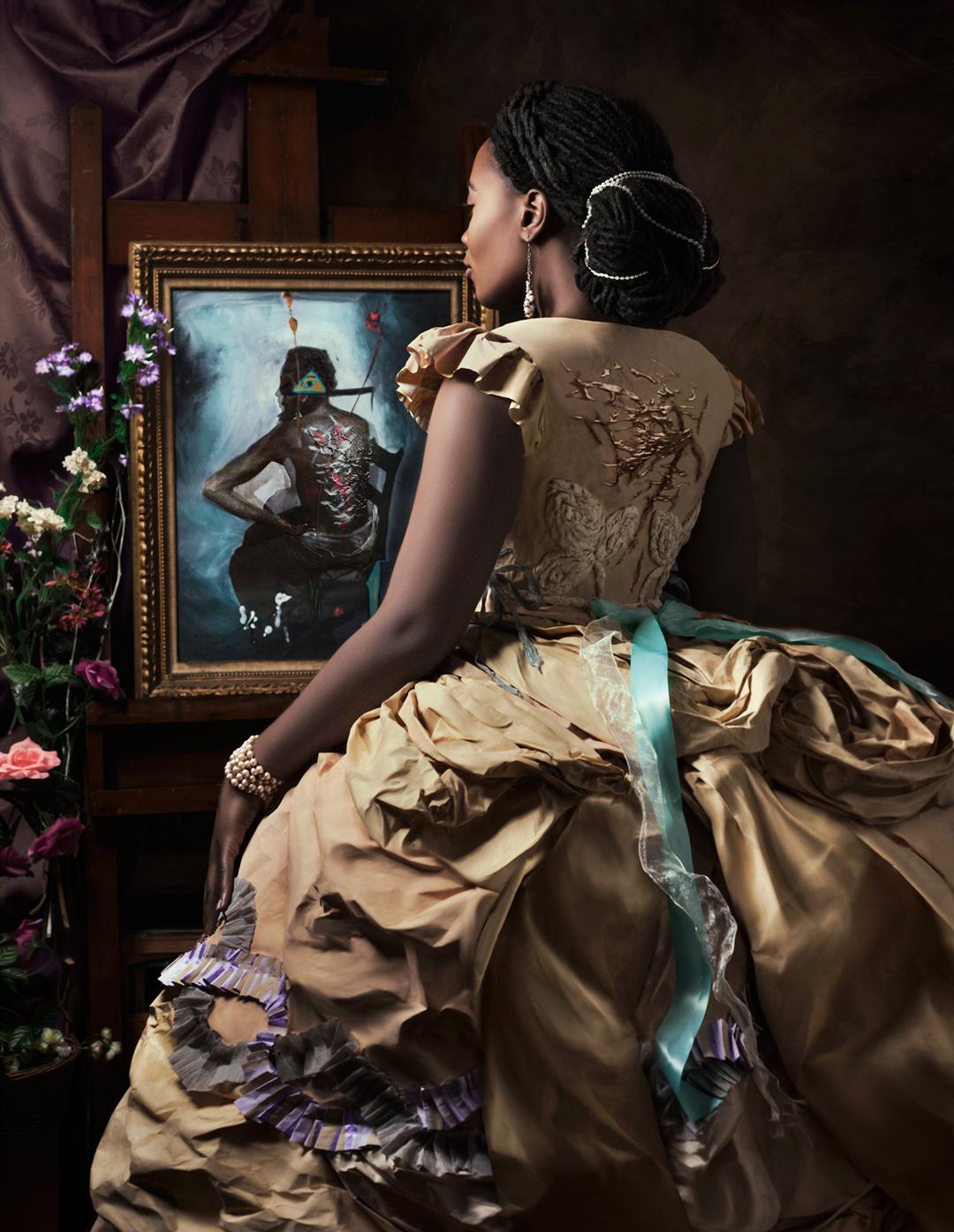"Fabiola Jean-Louis's ""Madame Beauvoir's Painting"""