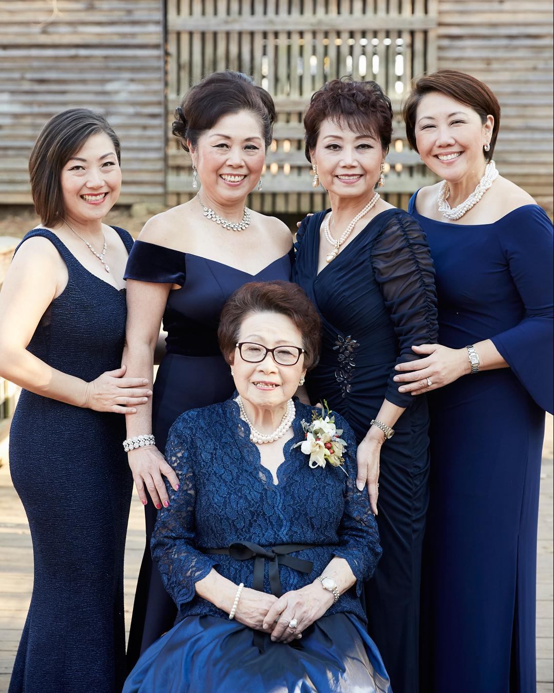 Soon Mee Kim family