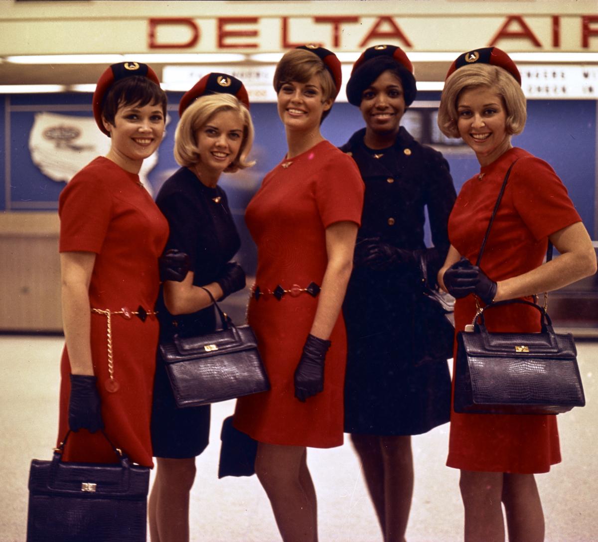 Delta Uniforms 1968-1970