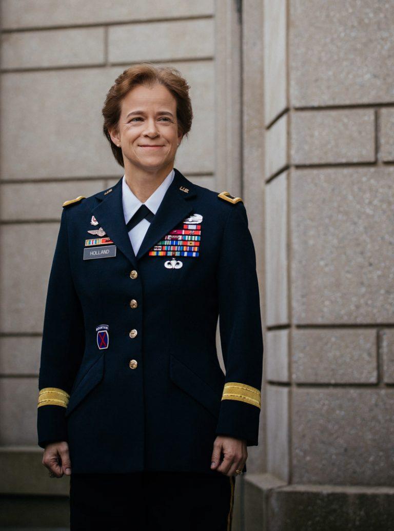 Brig. Gen. Diana Holland